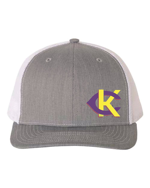 Richardson 112 Heather Grey Snapback