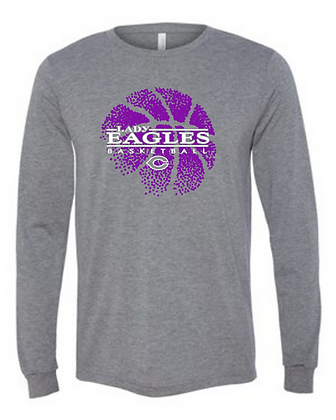 Personalized Long Sleeve Lady Eagles Fan Shirt