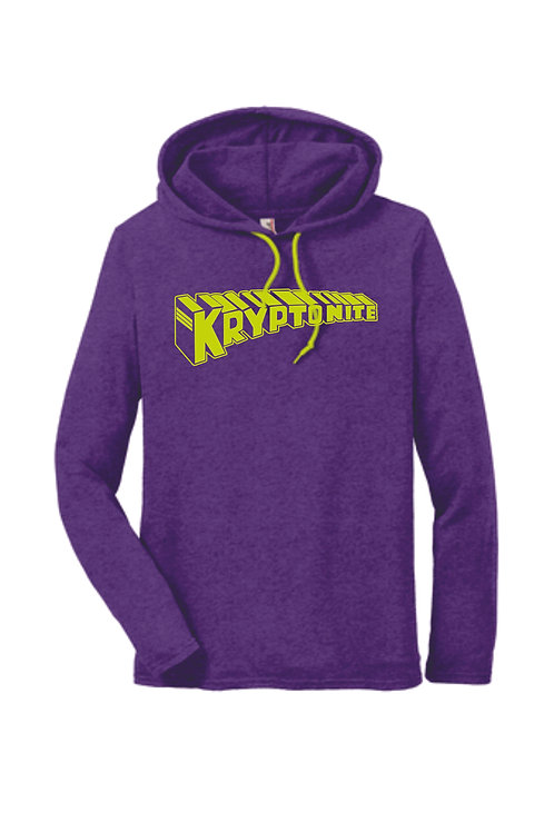 Personalized Long Sleeve T-Shirt with Hood