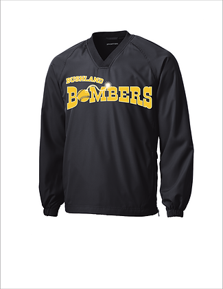 Personalized Bushland Bombers Pullover with Player Name/Number