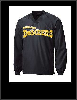 Bushland Bombers Black Pullover