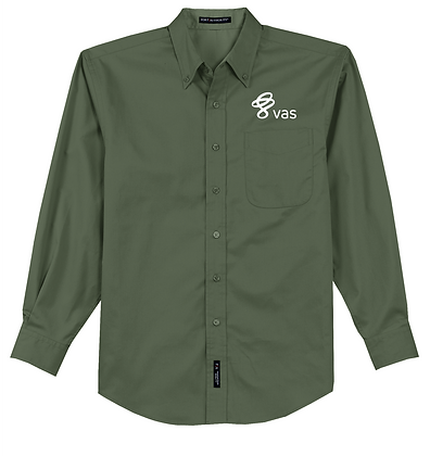 Men's/Women's Port Authority Long Sleeve Easy Care Shirt S/L 608