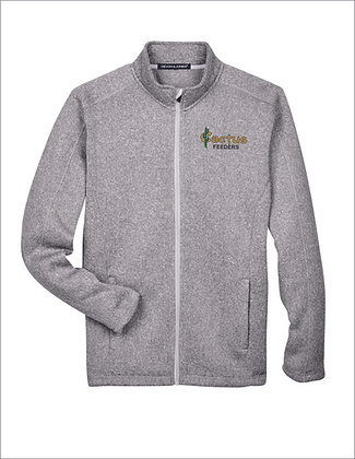 Men's Devon and Jones Bristol Sweater FleeceFull-Zip DG793