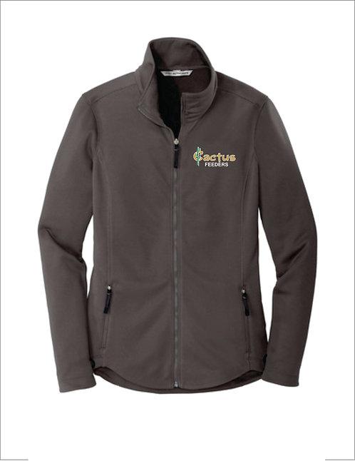 Women's Port Authority Collective Smooth Fleece Jacket L904
