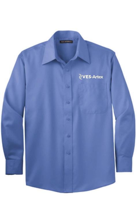 Men's Port Authority S638 Non Iron Twill Shirt