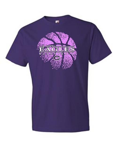 Personalized Short Sleeve Lady Eagles Fan Shirt