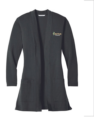 Women's Port Authority Concept Long Pocket Cardigan LK5434