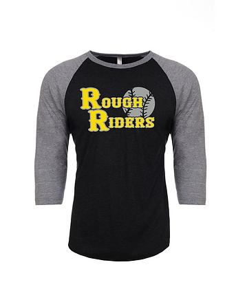 Rough Riders Unisex Raglan