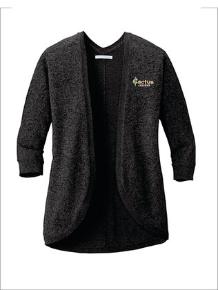 Women's Port Authority Marled Cocoon Sweater