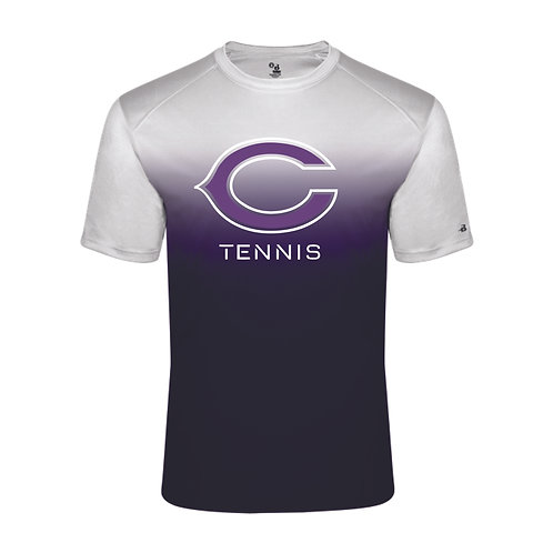 Tennis Ombre Short Sleeve TShirt