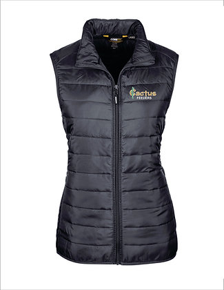 Women's Ash City Prevail Packable Puffer Vest CE702W