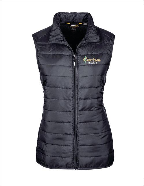 Women's Ash City Prevail Packable Puffer Vest CE702W