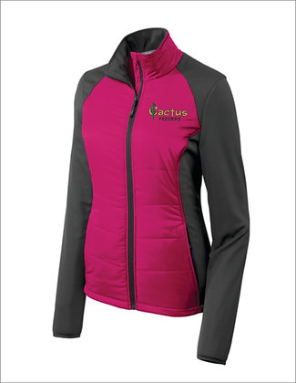 Women's Port Authority Hybrid Soft Shell L787