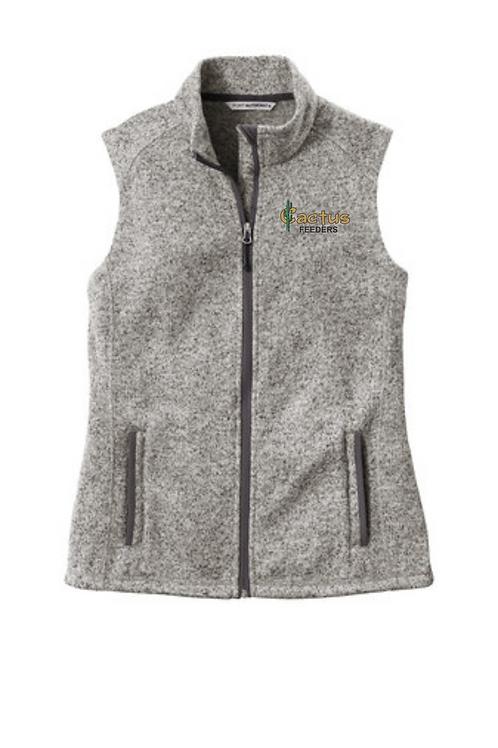 Women's Port Authority L236 Sweater Vest