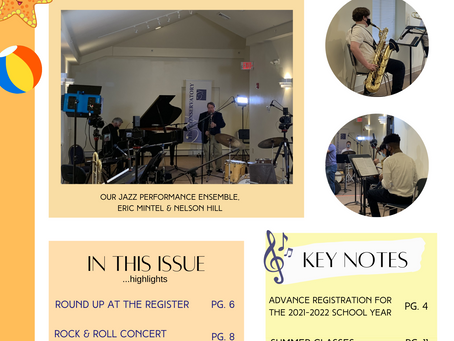 Keeping Tempo Newsletter:  Issue Ten