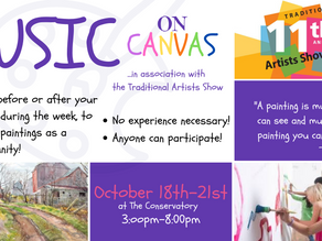 Music on Canvas: in Association with the Traditional Artists Show