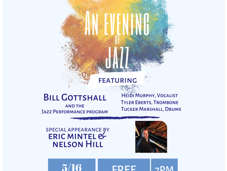 """Live from The Conservatory """"An Evening of Jazz"""""""