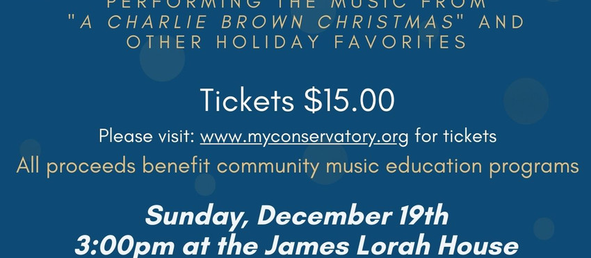 Holiday Jazz Concert:  An Afternoon with the Eric Mintel Quartet