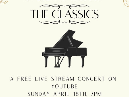 Live From The Conservatory: An Evening Through Classics