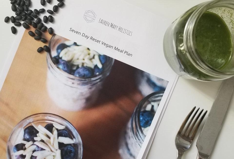 7 Day Reset Vegan Meal Plan