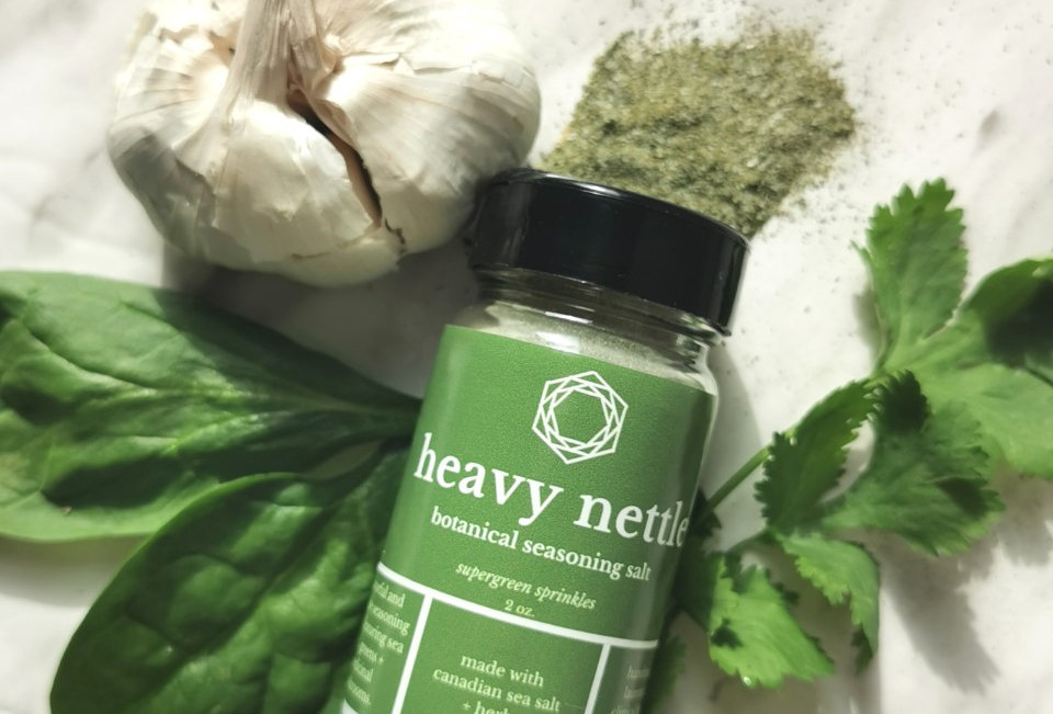 HEAVY NETTLE // botanical seasoning salt