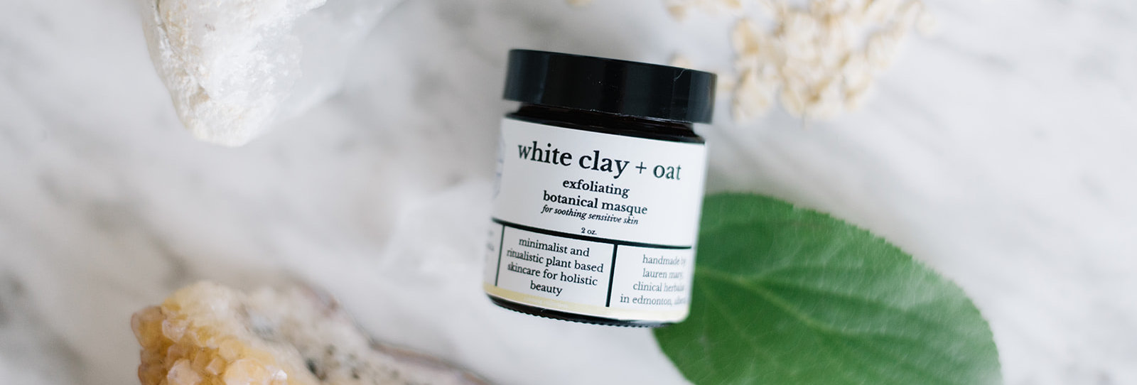 White Clay + Oat Exfoliating Masque
