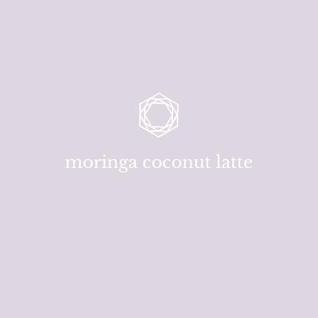 Moringa Coconut Latte