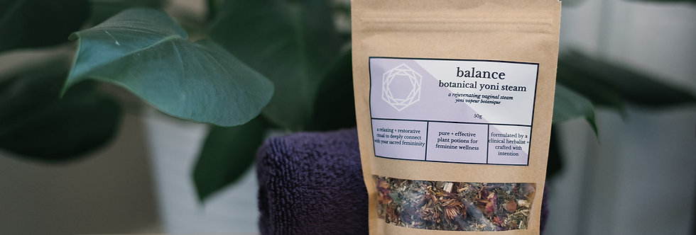 Balance Botanical Yoni Steam