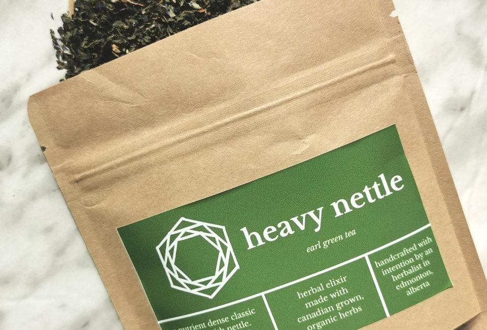 HEAVY NETTLE // earl green tea