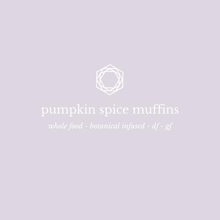 Recipe: Pumpkin Spice Muffins