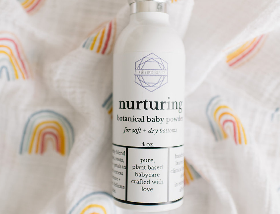 Nurturing Botanical Baby Powder