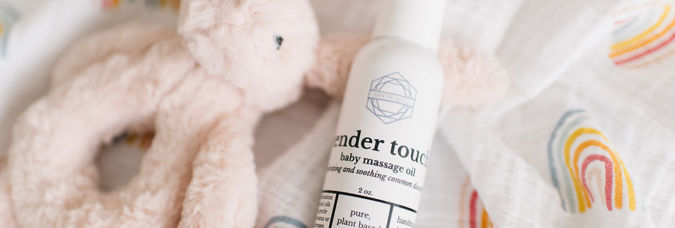 Tender Touch Baby Massage Oil