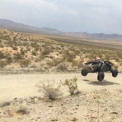 Shaking her down for the Vegas to Reno race! #baldiracing #offroad #speed #jump #kingshocks #general