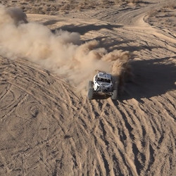 Racing through the 2016 Mint 400! Check out the link on our bio for the full video