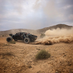 An action shot from testing today!  #baldiracing #offroad #speed #burnout #kingshocks #generaltire #