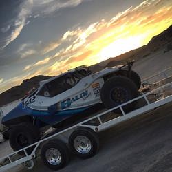 On our way to Vegas for the Vegas to Reno race! #baldiracing #vegas #vegastoreno #offroad #race #tea