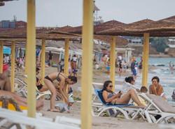 Umbrele Plaja Hotelului Elektra