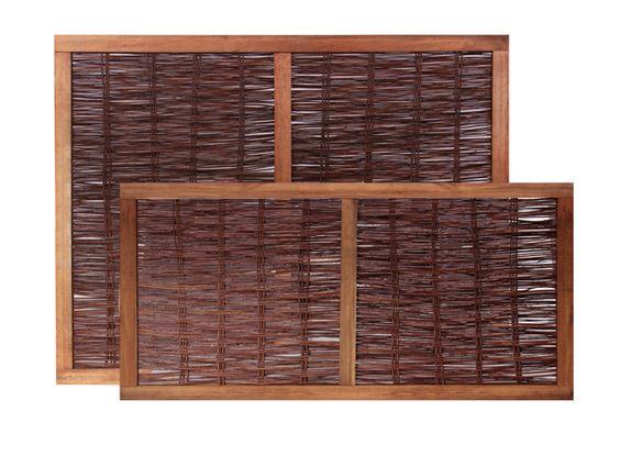 panou de rachita cu rama de lemn baituita