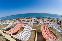 Umbrela soare plaja Hotel Elektra
