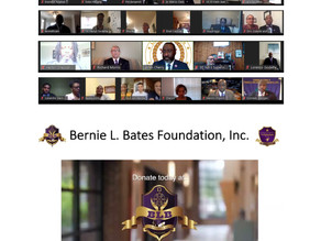 2020 Bernie L. Bates Scholarship and Recognition Awards Ceremony