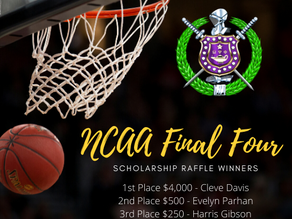2020 NCAA Final Four Raffle Winners