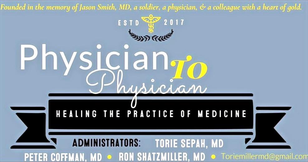 #physiciantophysician #p2p #physicianburnout #physiciansuicide #torangsepahmd
