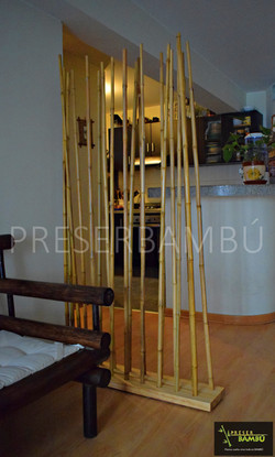Separador de bambú