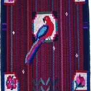 Roser og papegøye»
