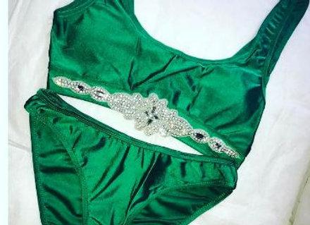The Emerald Bikini Set