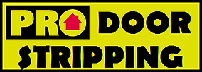 Pro Door Stripping Logo