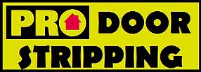 Pro Door Stripping Logo