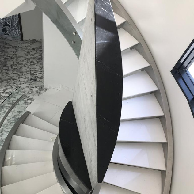 Staircase Top View
