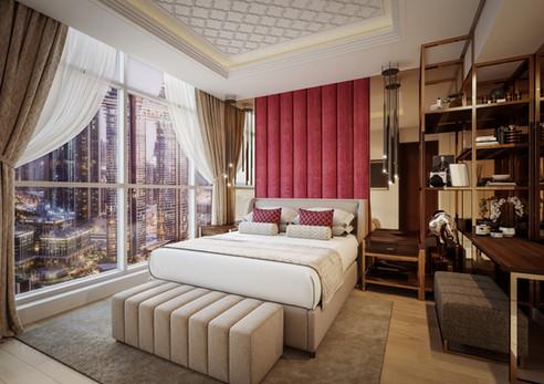 Premium Suite Bedroom