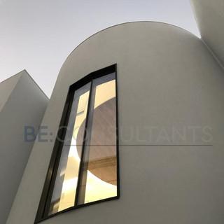 CEILING THROUGH A WINDOW